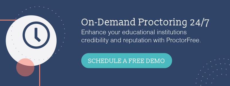 On-Demand Proctoring 24/7